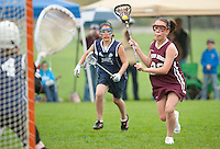 Lakes Region Lacrosse U13 girls versus Hampton Attack  May 15, 2011.Lakes Region Lacrosse U13 girls versus Hampton Attack May 15, 2011.