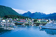 Sitka, Alaska. Various views of Sitka, nestled in the Southeast Panhandle and Tongass National Forest.