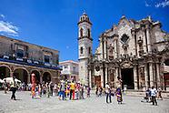Plaza of the Cathedral, Havana Vieja, Cuba.