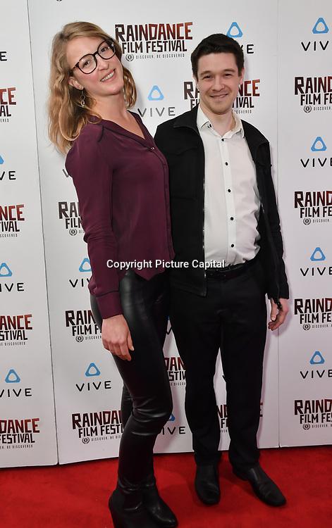 Nominees attends the Raindance Film Festival - VR Awards, London, UK. 6 October 2018.