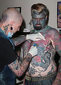 "EXCLUSIVE Britain's most tattooed man ""King Of Ink Land"""