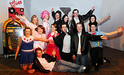 The Cast of Grease as performed by Transition Year students from Our Lady's Secondary School Belmullet going through final rehersals for their upcoming shows...Pic Conor McKeown