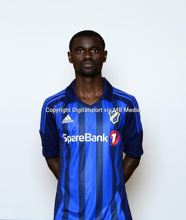 Fotball , Tippeligaen 2014 , Elitesereien<br /> , portrett , portretter<br /> Stab&aelig;k<br /> <br /> Enock Kofi Adu