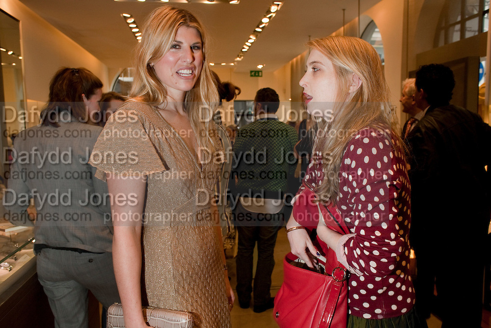Leonardo Ferragamo;  Daisy de Villeneuve; . BOOK PARTY FOR A BOOK BY DONNA FRANCESCA CENTURIONE SCOTTO AT Salvatore Ferragamo, 24 Old Bond Street, London W1. 14 May 2009