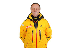 03.01.2014, Kunsteisbahn, Koenigssee, GER, BSD, Rennrodler Team Deutschland, Portrait, im Bild Rennrodel-Bundestrainer Norbert Loch // during Luge athletes of team Germany, Portrait Shooting at the Kunsteisbahn in Koenigssee, Germany on 2014/01/04. EXPA Pictures © 2014, PhotoCredit: EXPA/ Eibner-Pressefoto/ Stuetzle<br /> <br /> *****ATTENTION - OUT of GER*****