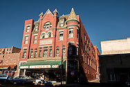 Butte Montana, Curtis Music Hall, uptown