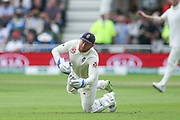 Jonny Bairstow of England during the 3rd International Test Match 2018 match between England and India at Trent Bridge, West Bridgford, United Kingdon on 18 August 2018.