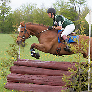 Jean Rablat and Afterthought at Checkmate Horse Trials in Feversham, Ontario.