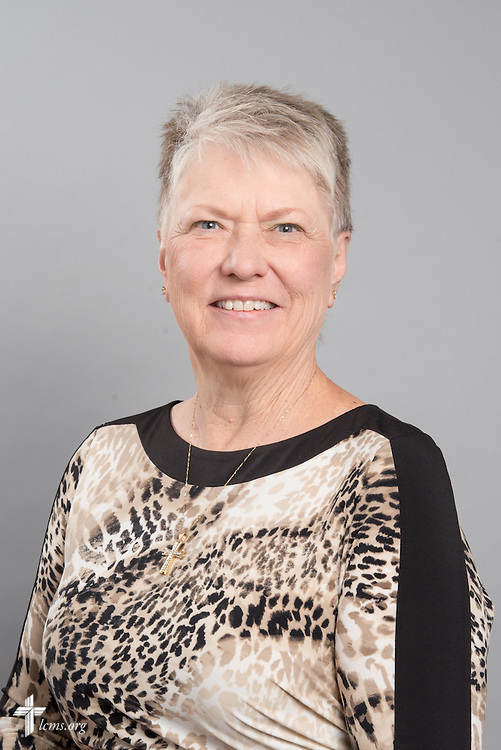 Headshot photograph of Linda Stoterau on Friday, May 29, 2015, at the International Center of The Lutheran Church–Missouri Synod in Kirkwood, Mo. LCMS Communications/Frank Kohn
