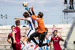 Semir Smajlagic of ND Gorica and Curanovic Darjan of NK Triglav during Football match between NK Triglav Kranj and ND Gorica in 30th Round of Prva liga Telekom Slovenije 2018/19, on May 2nd, 2019, in Sports park Kranj, Slovenia. Photo by Grega Valancic / Sportida