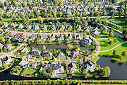 Nederland, Friesland, Gemeente De Friese Meren , 10-10-2014; Joure, nieuwbouwwijk.<br /> luchtfoto (toeslag op standard tarieven);<br /> aerial photo (additional fee required);<br /> copyright foto/photo Siebe Swa