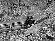 Romance in Central Park near West 77th street