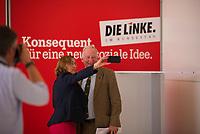 DEU, Deutschland, Germany, Berlin, 31.05.2018: Beatrix von Storch und Alexander Gauland, Alternative für Deutschland (AfD), machen ein Foto von sich vor der Stellwand der Fraktion DIE LINKE im Deutschen Bundestag.