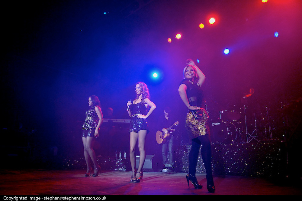London 01/10/08: Sugababes play the Kentish Town Forum