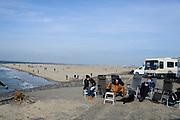 Nederland, Zeeland, Gemeente Schouwen-Duiveland, 26-03-2016; Brouwersdam met strand Middelplaat<br /> <br /> <br /> copyright foto/photo Siebe Swart