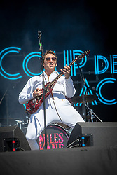 Miles Kane on the main stage, Sunday 1st Junly at TRNSMT 2018.