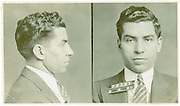 Mugshots of mobsters in the 1930s New York found in private diaries of detective now up for auction<br /> <br /> Eugene Canevari joined the New York Police Department and worked for 24 years in crime<br /> He dealt with some of the most prominent New York organized crime figures of the era<br /> Upon retiring in 1952 he took with him a collection of police documents and photos as souvenirs<br /> By JAMES DANIEL<br /> <br /> PUBLISHED: 22:49, 20 June 2013 | UPDATED: 23:03, 20 June 2013<br /> <br />    140 shares 38 View <br /> comments<br /> Striking images of New York mobsters from the dirty thirties have been revealed as they come up for auction.<br /> <br /> Over 24 years, Eugene Canevari, a detective with the New York Police Department began working on cases involving some of the most well-know crime figures of the era: Lucky Luciano, Louis 'Lepke' Buchalter, Dutch Schultz and Vincent 'Mad Dog' Coll.<br /> <br /> After retiring in 1952, Canevari took with him a number of police documents and photographs that charted his long career.<br /> Now his files are up for auction and they include some incredible artifacts such as original mugshots of gangsters like Lucky Luciano and Johnny Torrio.<br /> The files also contain various other police documents.<br /> Canevari, who born in Greenwich Village, was on a first name basis with many of the mobsters he later prosecuted, having known several since childhood.<br /> With a career beginning in 1928 at the age of 25, Canevari eventually rose to the rank of Detective 2nd Grade, mainly through his work on organized crime.<br /> In addition to organized crime, he also worked on the NYPD Bomb Squad and Homicide Unit, not to mention his undercover work infiltrating Communist organizations. <br /> Beyond the force, he also protected several celebrities including FDR, James Cagney, and Winston Churchill. <br /> After a long and successful career, Canevari retired in 1952, at the age of 49, having served nearly 25 years.<br /> In one part of the collection, photos depict the scene of an attempted bombing with dynamite on train tracks. A witness statement reads: 'Th