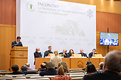 Briefing at the Augustinianum university - February 24, 2019