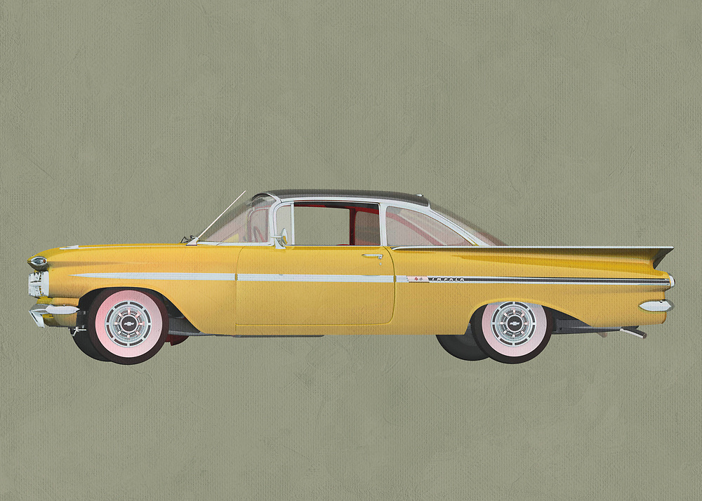 Chevrolette Impala 1959 Hard Top<br />