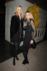 Left to right, KATE DRIVER and  JANE GOTTSCHALK at a party to celebrate the launch of the Astley Clarke Fine Jewellery Collection held at The Connaught hotel, London W1 on 28th February 2008.<br />