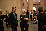 Opening for Nick Waplington's Alexander McQueen photography exhibition and Christina Mackie's Tate Britain Commission. Tate Britain. London. 23 March 2015