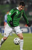 Fotball<br /> Liechtenstein v Nord Irland<br /> 24.03.2007<br /> Foto: Gepa/Digitalsport<br /> NORWAY ONLY<br /> <br /> Keith Gillespie (NIR)