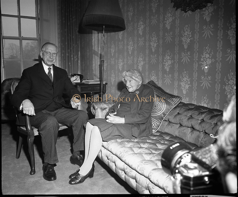 The de Valera's Diamond Wedding Anniversary.07/01/1970