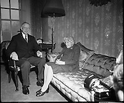 The de Valera's Diamond Wedding Anniversary.07/01/1970