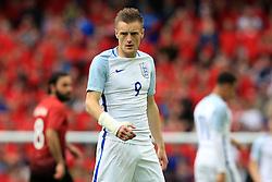 England's Jamie Vardy  - Mandatory byline: Matt McNulty/JMP - 07966386802 - 22/05/2016 - FOOTBALL - Etihad Stadium -Manchester,England - England v Turkey - International Friendly