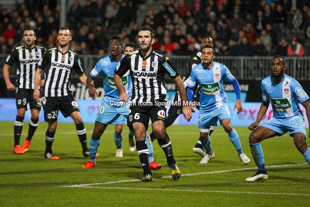 Loic GUILLON  - 26.01.2015 - Angers / Brest - 21eme journee de Ligue 2 -<br /> Photo : Vincent Michel / Icon Sport
