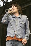 Jun 11, 2004; Manchester, TN, USA; Wilco performing at Bonnaroo 2004. Mandatory Credit: (©) Copyright 2004 by Bryan Rinnert