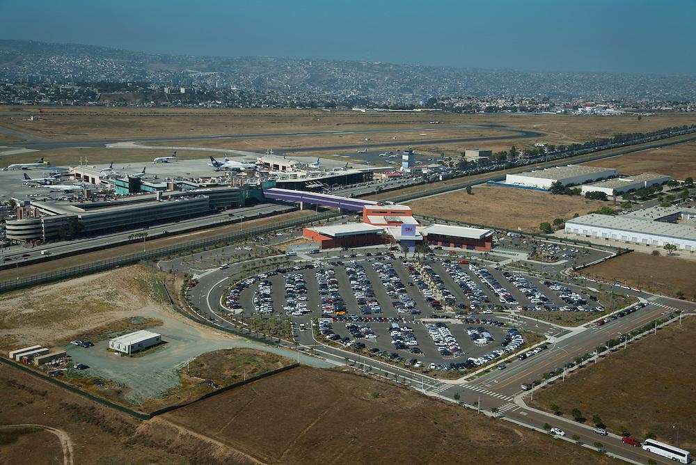 Cross Border Xpress, Otay Mesa, USA to Tijuana, Mexico airport