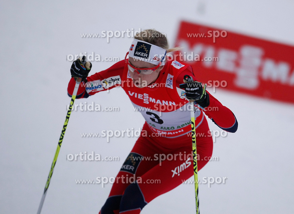 03.01.2013, Nordische Arena, Toblach, ITA, FIS Langlauf Weltcup, Tour de Ski 2013, Damen, 15km Verfolgung, im Bild Kristin Steira // during Ladies 15 km Free Pursuit of the Tour de Ski 2013 of the FIS cross country world cup at nordic arena in Dobiacco, Italy on 2013/01/03. EXPA Pictures © 2013, PhotoCredit: EXPA/ Newspix/ Irek Dorozanski..***** ATTENTION - for AUT, SLO, CRO, SRB, BIH, TUR, SUI and SWE only *****