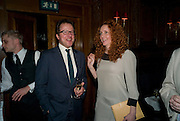 WILL TURNER; REBEKAH WADE; , Book launch for Citizen by Charlie Brooks. Tramp. London. 1 April  2009
