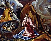 El Greco (1541-1614) Greek painter, Christ in Gethsemane