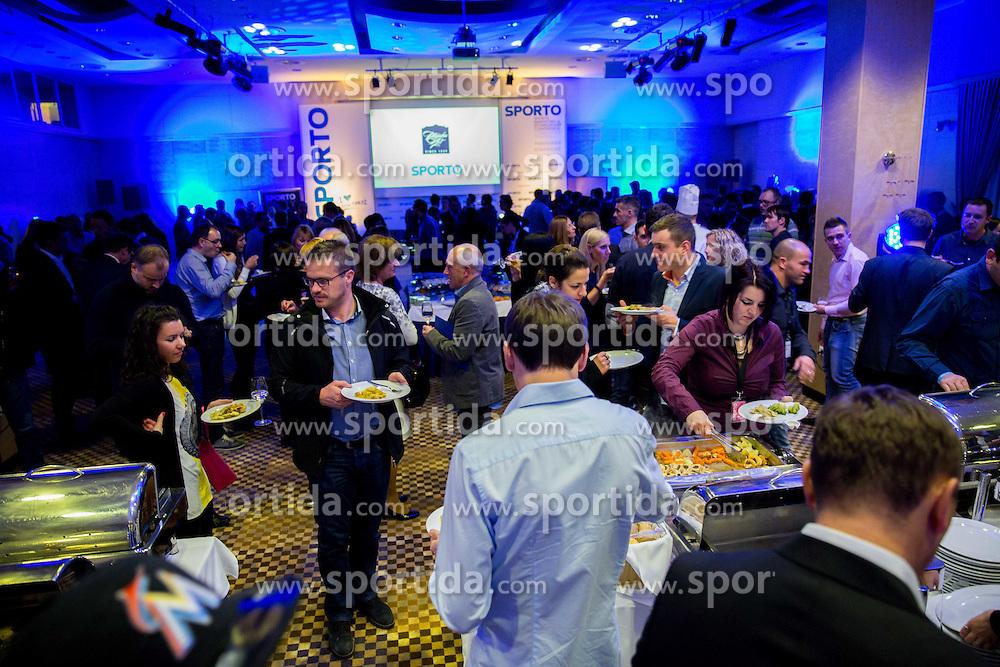 Sporto Dinner with Sporto Awards 2014 Ceremony during sports marketing and sponsorship conference Sporto 2014, on November 20, 2014 in Hotel Slovenija, Congress centre, Portoroz / Portorose, Slovenia. Photo by Vid Ponikvar / Sportida