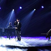 Calum Scott preforms at 2020 WE Day UK at Wembley Arena, London, Uk 4 March 2020.