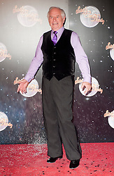 Johnny Ball joins fellow Contestants as they line up for this years Strictly Come Dancing television show on BBC. Contestants will include Olympic medalist Victoria Pendleton, Tuesday September 11, 2012.Photo Andrew Parsons/i-Images