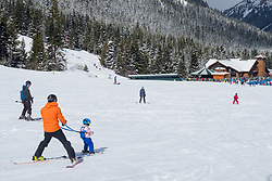 United States, Washington, Crystal Mountain Ski Resort