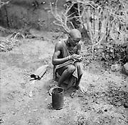 Maasai Warrior, Great Rift Valley, Kenya, Africa, 1937