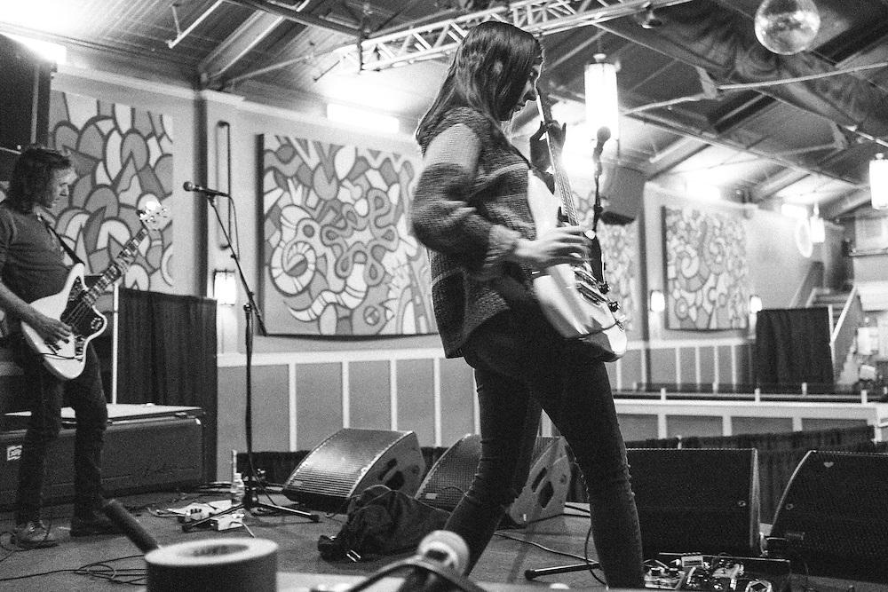 Summer Cannibals soundcheck at the Wonder Ballroom, Jan 13, 2017.
