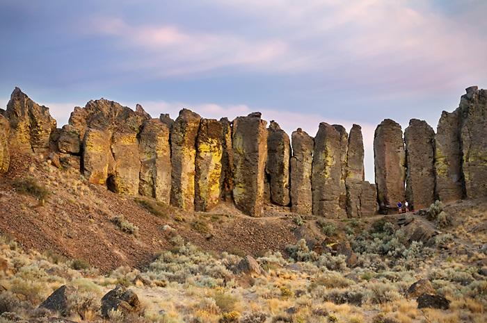 Basalt Columnar Rocks