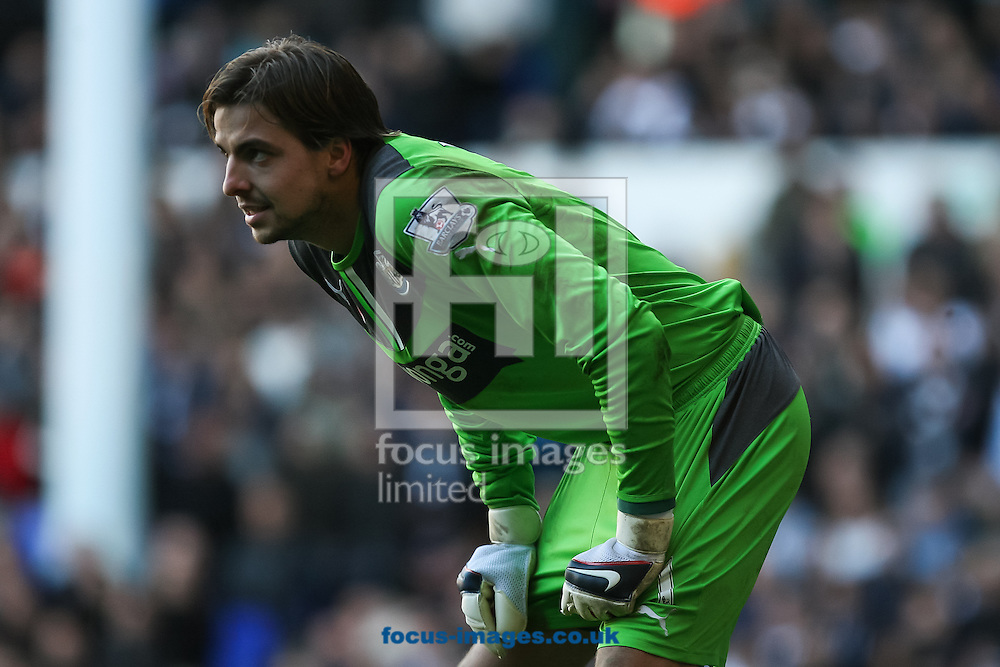 Picture by Daniel Chesterton/Focus Images Ltd +44 7966 018899<br /> 10/11/2013<br /> Tim Krul of Newcastle United in action during the Barclays Premier League match at White Hart Lane, London.