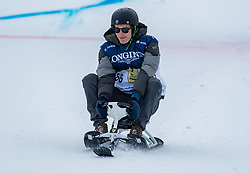 20.01.2018, Hahnenkamm, Kitzbühel, AUT, FIS Weltcup Ski Alpin, Kitzbuehel, Kitz Charity Trophy, im Bild Brendon Hartley // Brendon Hartley during the Kitz Charity Trophy of the FIS Ski Alpine World Cup at the Hahnenkamm in Kitzbühel, Austria on 2018/01/20. EXPA Pictures © 2018, PhotoCredit: EXPA/ Stefan Adelsberger