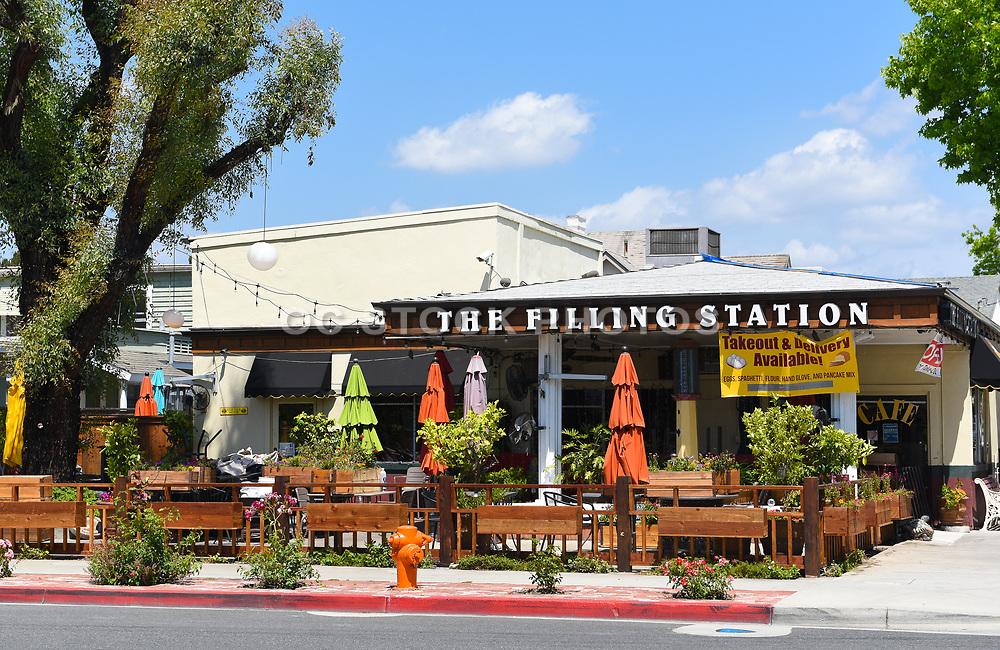 The Filling Station Restaurant in Orange California