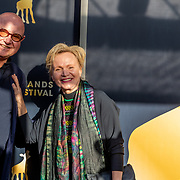 NLD/Utrecht/20191002 - NFF 2019: premiere Puck en Hans, Ted Lenssen partner Renee Soutendijk
