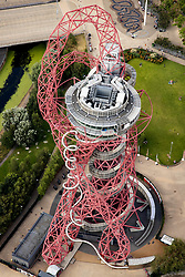 Client: LLDC.  Aerial shoot over Queen Elizabeth Park showing latest transformations. Photo: Anthony Charlton