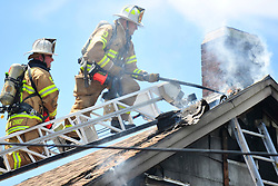 6/20/2014 Northampton, PA. Fire crews were called to the 6800 block of East Bullhead road in East Allen Township for a reported house fire. Express-Times Photo | CHRIS POST