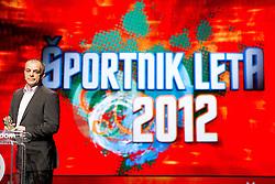 Matjaz Kopitar, father of Anze Kopitar at Slovenian Sports personality of the year 2012 annual awards presented on the base of Slovenian sports reporters, on December 20, 2011 in Cankarjev dom, Ljubljana, Slovenia. (Photo By Vid Ponikvar / Sportida.com)