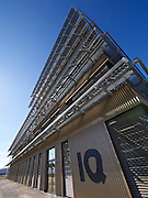 Vienna, Austria. Seestadt Aspern.<br /> Green house: Technologiezentrum (Technology Center) aspern IQ.